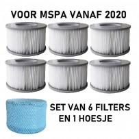 6 X MSpa filter 2020-2021 met 1 hoesje