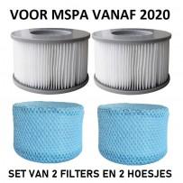 MSpa filter set 2020-2021 met hoesje